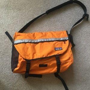 Orange Patagonia Messenger Bag